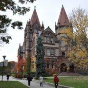 Victoria College in Fall