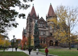 Victoria College in Fall