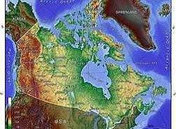 جغرافیا و آبوهوای کانادا