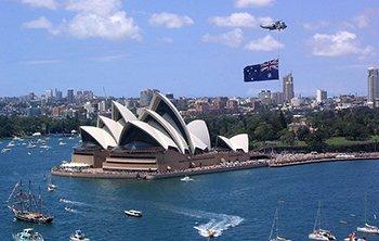 درآمد استرالیا